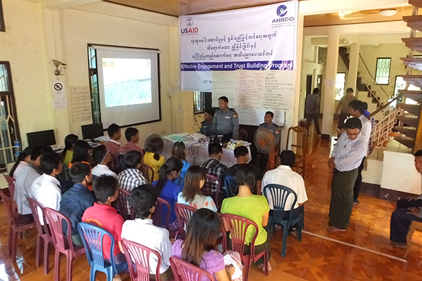 youth empowerment and capacity building training-AHRDO
