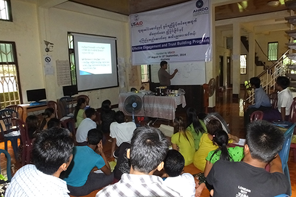 youth empowerment and capacity building trainingAHRDO